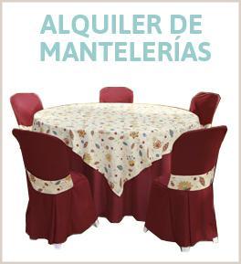 Alquiler de Mantelerías